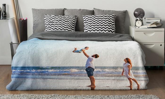 [Groupon] Kuschelige Fleece-Decke mit eigenem Foto von Photo Gifts (150cm x 100cm) für 13,99 € - mit VK 21,89