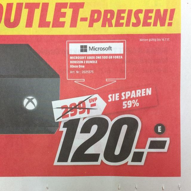 Lokal Saarbrücken XBOX ONE 500 GB Horizon 2