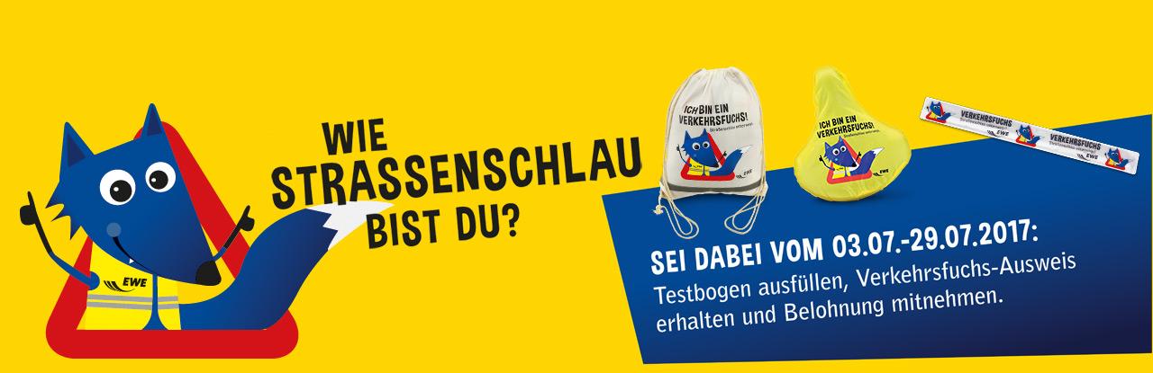 [EWE] ADAC Verkehrsfuchs-Ausweis mit Starter-Kit für alle Grundschüler