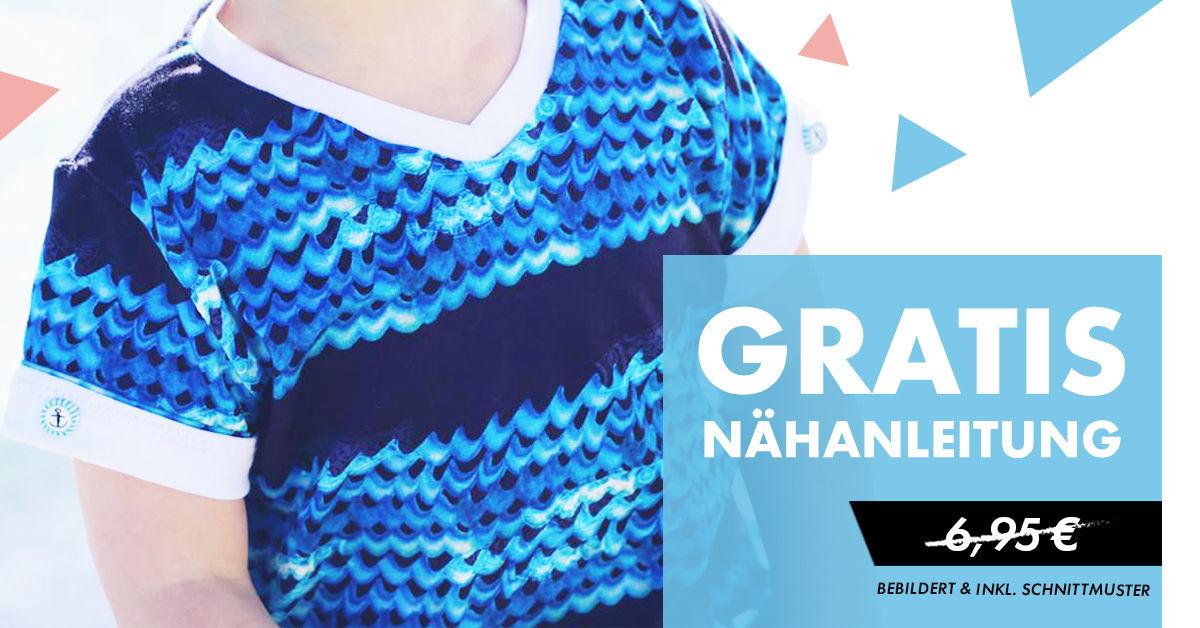 [Makerist] Nähanleitung, Schnittmuster für ein (Jungen) Shirt