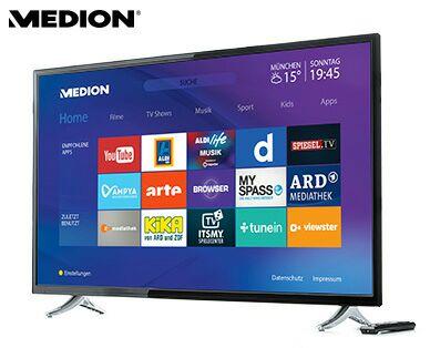 "[Aldi Süd] 49""  Smart-TV Triple TV Tuner MEDION® LIFE® P18117 (MD 31201)  263,99€ statt 399€"