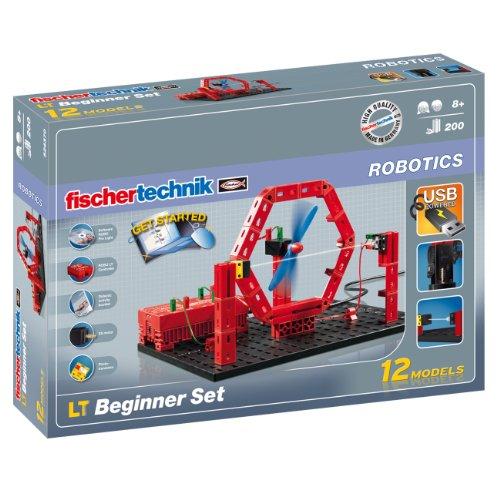 [Amazon oder Media Markt] Fischertechnik ROBOTICS ´´LT Beginner Set´´ - Robotik Einsteigerpaket / Technik-Baukasten, 200 Teile / Lernspielzeug für Kinder ab 8 Jahre / 35% unter Idealo