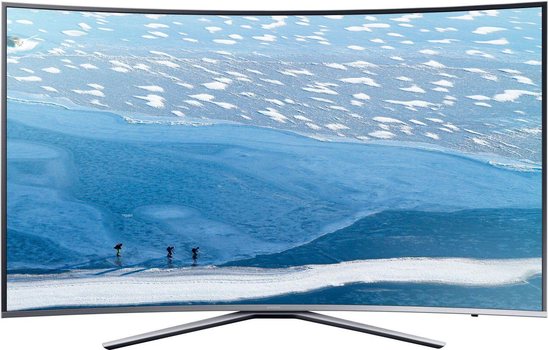 Samsung KU6509 163 cm (65 Zoll) Curved Fernseher (Ultra HD, Triple Tuner, Smart TV) + Soundbar gratis