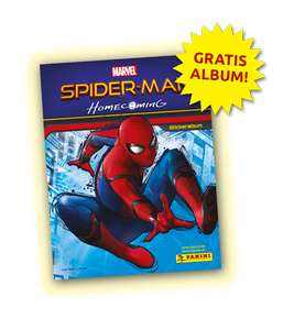 Gratis Panini-Album zu Spiderman:Homecoming