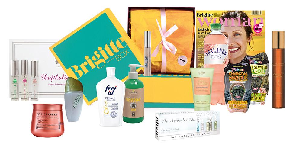 Brigitte Box und Pink Box zum super Preis - auch ohne Abo