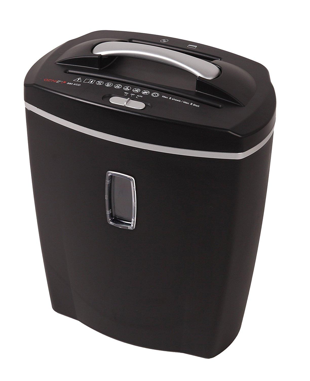[@Dealclub] Genie 580 XCD Aktenvernichter in schwarz als Neuware in offener Originalverpackung [+3% shoop]