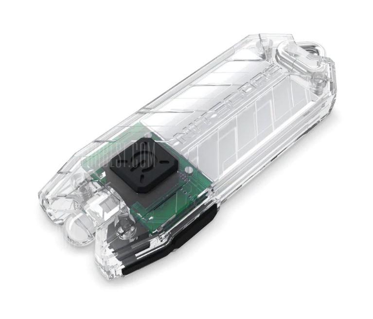 [Gearbest] NiteCore Tube - Schlüsselanhängerlampe, max. 45 Lumen, stufenlos regelbar, USB-Aufladung