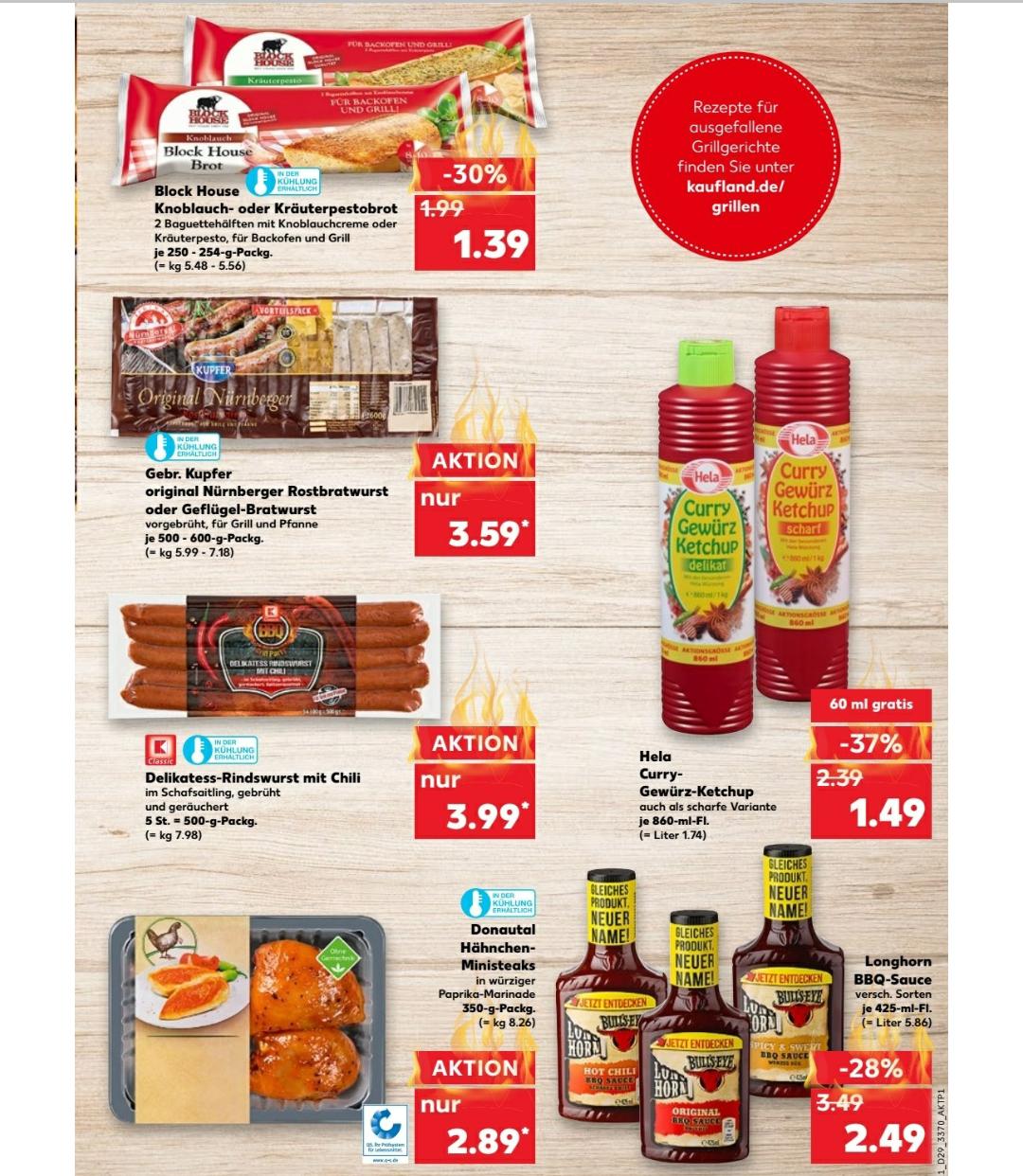 Hela Curry-Gewürz-Ketchup verschiedene Sorten in der Aktionsgröße 860 ml bei Kaufland