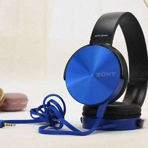 "SONY MDR-XB450APR in BLACK / WHITE / RED / GOLD / BLUE ""eBay"""