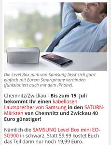 Samsung BT Box Level mini [Lokal Chemnitz / Zwickau]