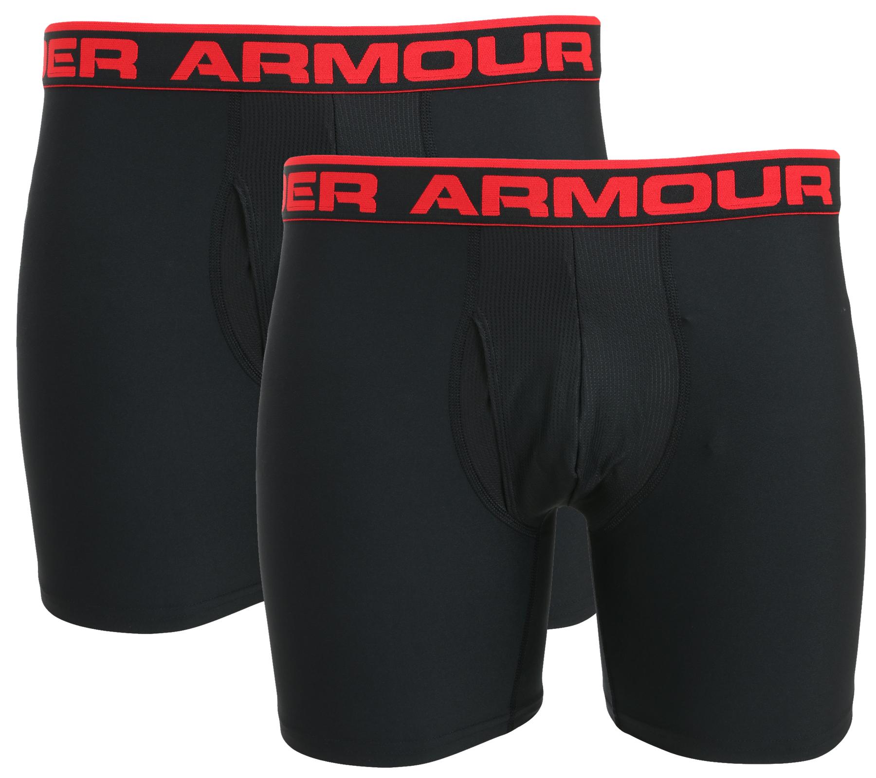 Under Armour Doppelpack Boxerjock Gr. S-XL bei Outlet46