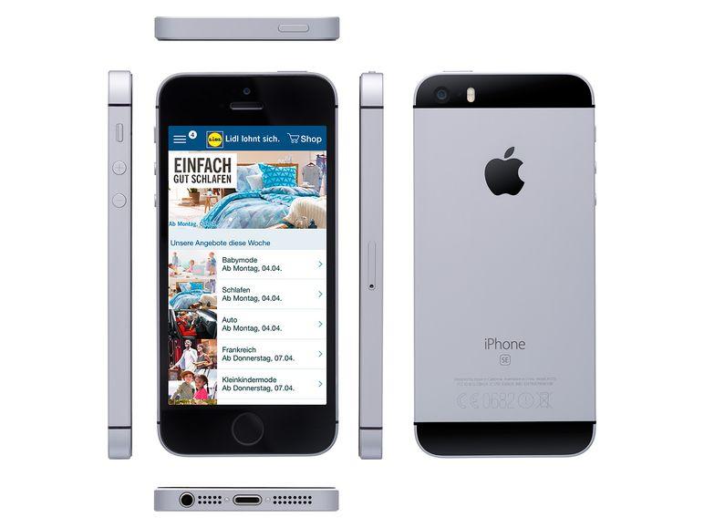 Nur heute: Apple iPhone SE 32GB Spacegrey - lidl.de