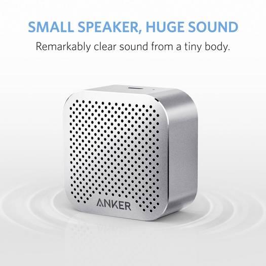 [Völkner] Anker Bluetooth® Lautsprecher SoundCore Nano Grau für 11,99€ [versandkostenfrei]