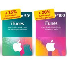 [Penny] Bis zu 20% iTunes Bonus Guthaben