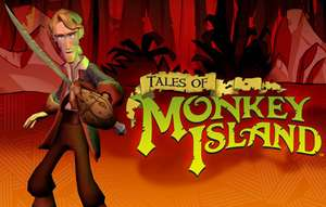 Tales of Monkey Island: Complete Pack - Kapitel 1-5 (PC + Mac / Steam) für 4,49€ [Gog.com]