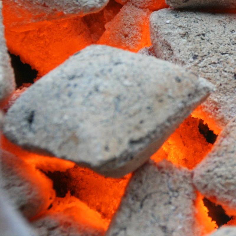 20kg Cocos Grillketts - Grillbriketts aus Kokosnuss-Schalen