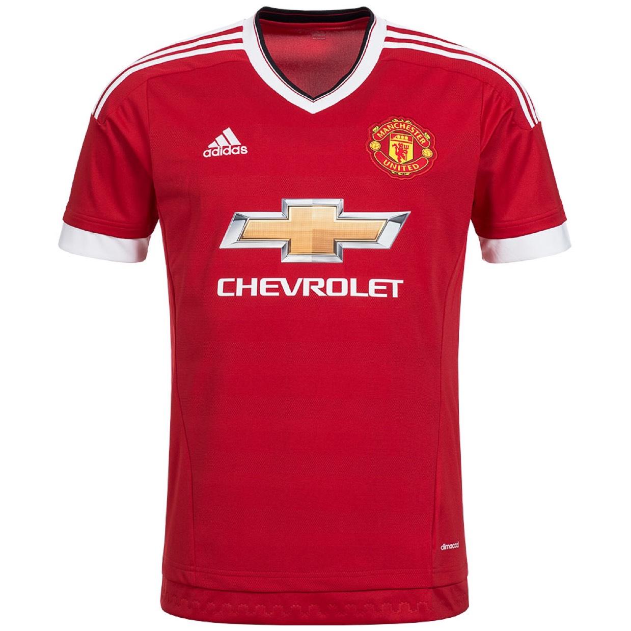 [Lokal Berlin Siemes Schuhcenter] Adidas Manchester United Trikot Home 2015/2016