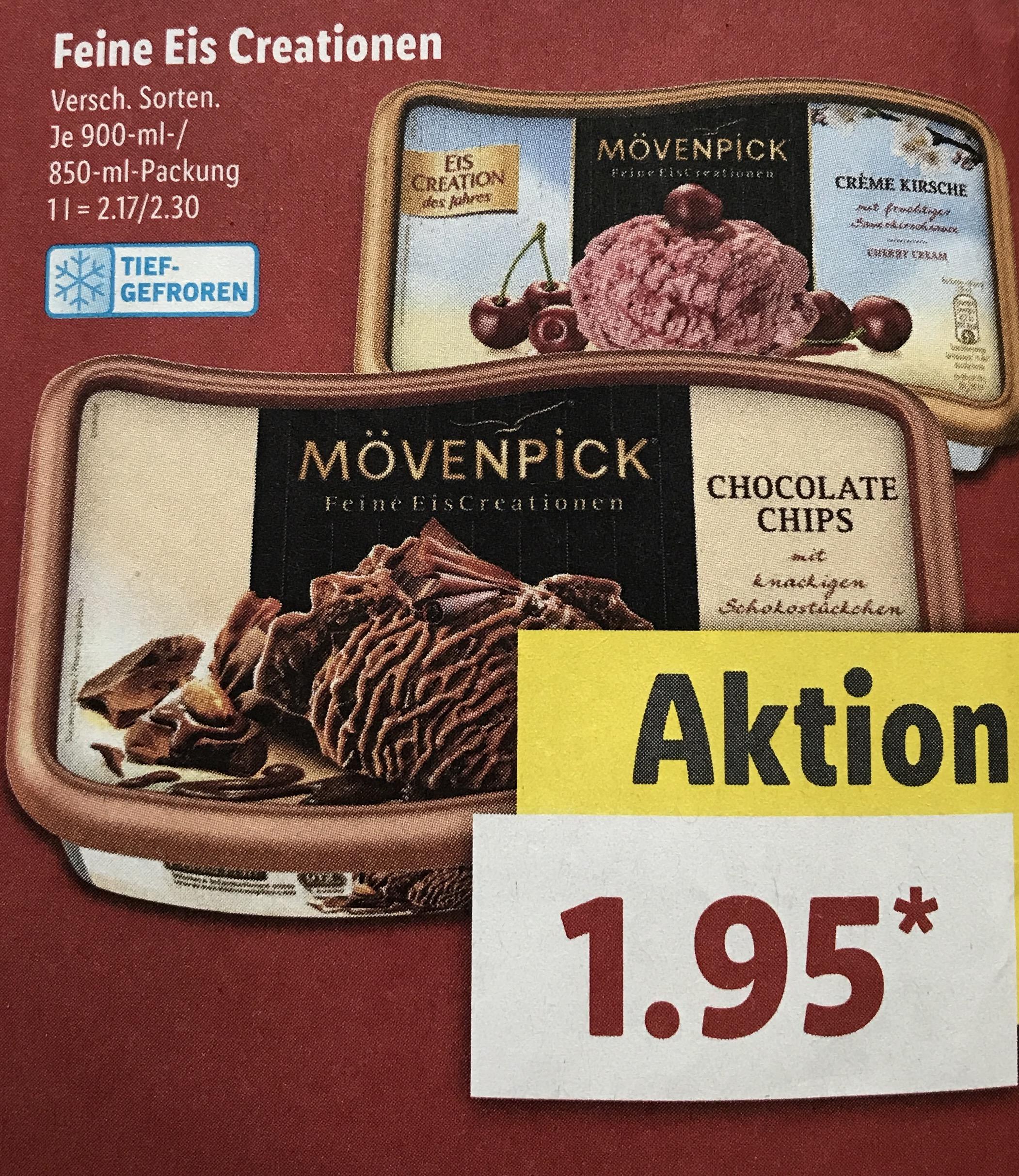 Penny - Mövenpick Eis versch. Sorten (ab Montag)