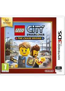 LEGO City Undercover The Chase Begins Selects (Nintendo 3DS) für 12,86€ statt 19,25€