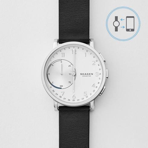 Hagen Connected Hybrid Smartwatch (Leder) für 103,20€[SKAGEN-ONLINE]