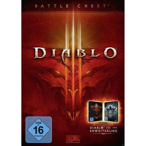 Diablo 3: Battlechest (Retail / Disc) (Grundspiel Diablo 3 + Addon Reaper of Souls) für 17€ [Amazon + Mediamarkt + Saturn]