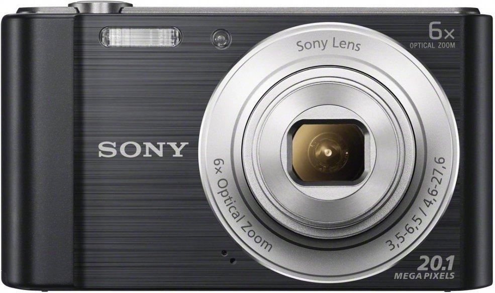 SONY Digitalkamera DSC-W810, 20,1 Megapixel in schwarz für 71,89€ [brands4friends]