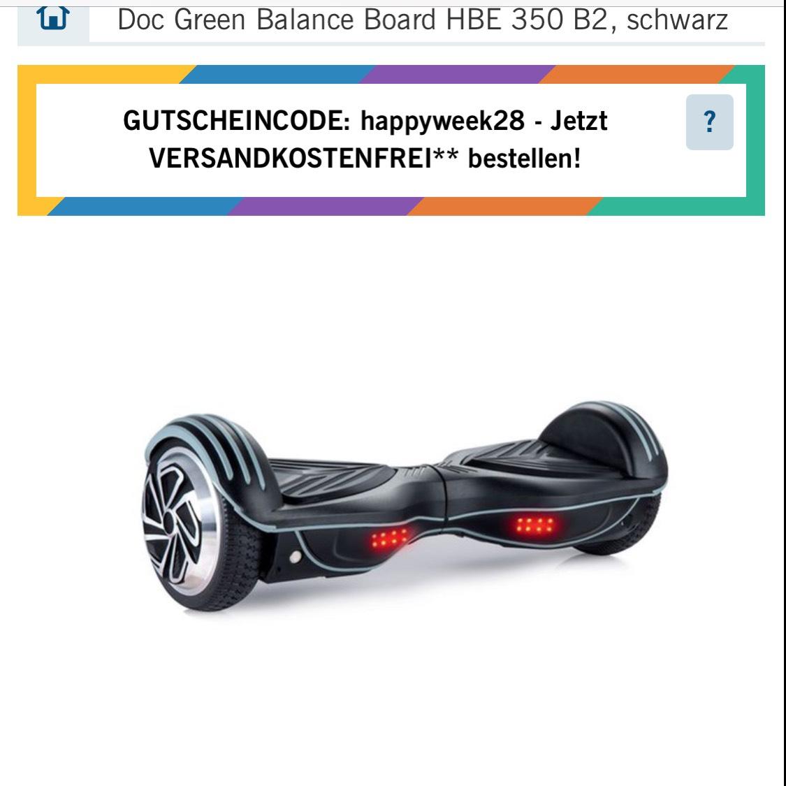 Lidl Online Balance Board mit Bluetooth Lautsprecher