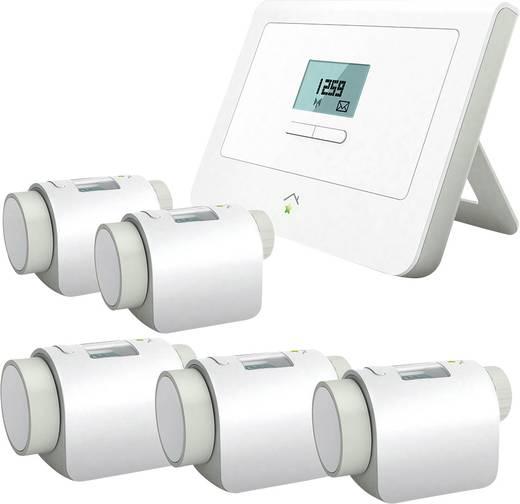 Innogy SmartHome Heizungspaket ( Basis+5 Thermostate) Alexa Sprachsteuerungsfähig.