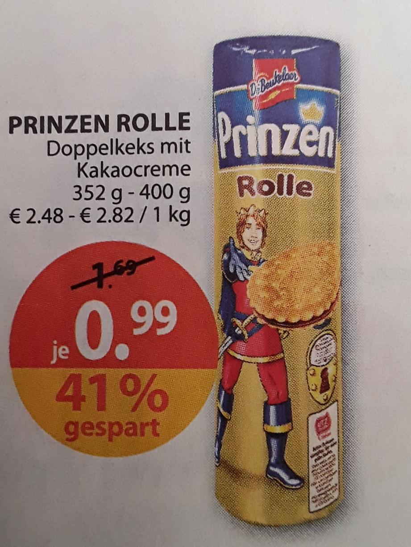 (Müller ab Montag 17.7.17) Prinzenrolle 400 g für 0,99 €