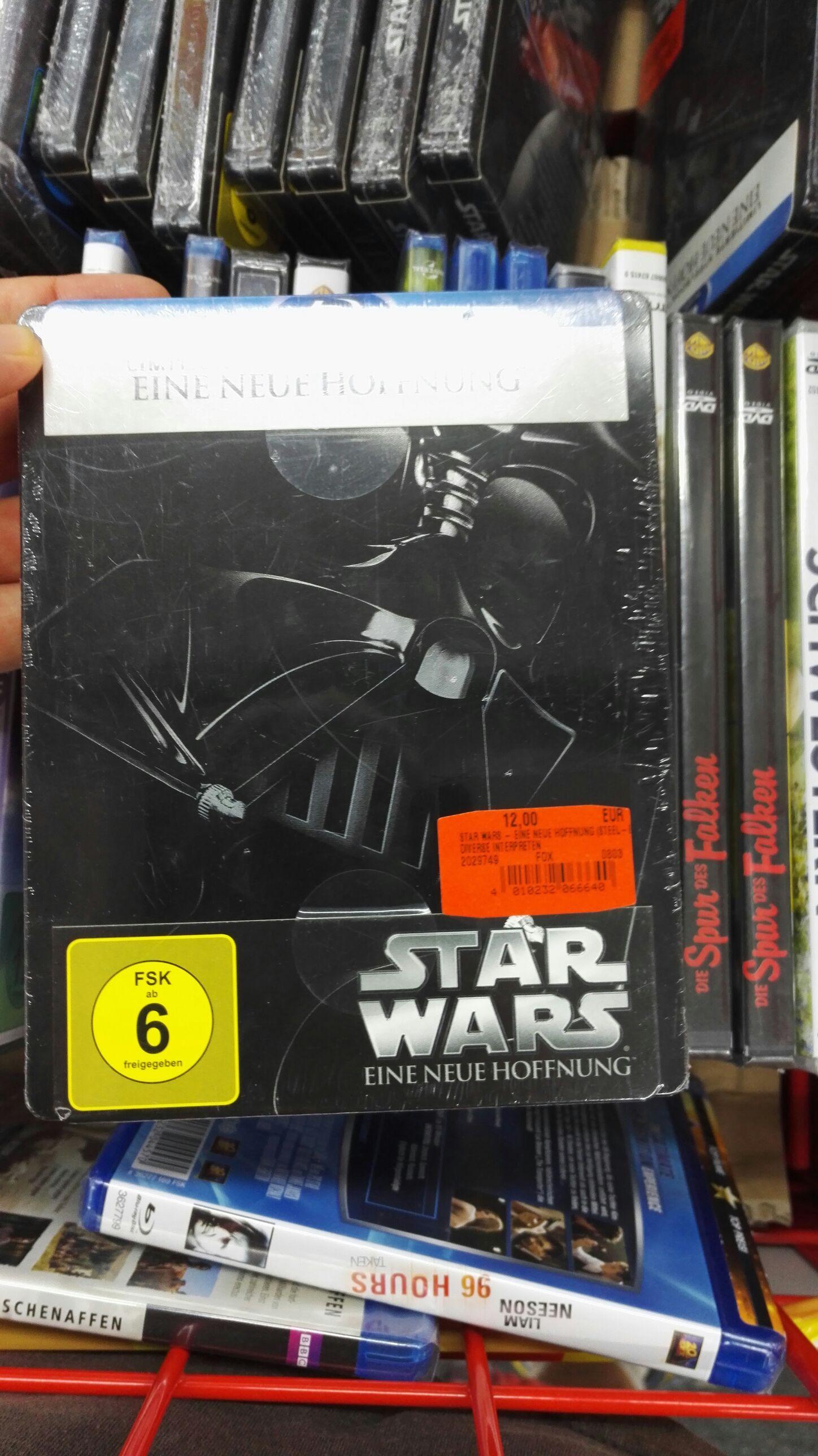 Star Wars Episode II bis IV Blu-ray Steelbook [lokal LB Breuningerland]