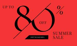 Fashionesta.com (Designer Outlet) 80% Summer Sale plus 10% Gutschein on Top