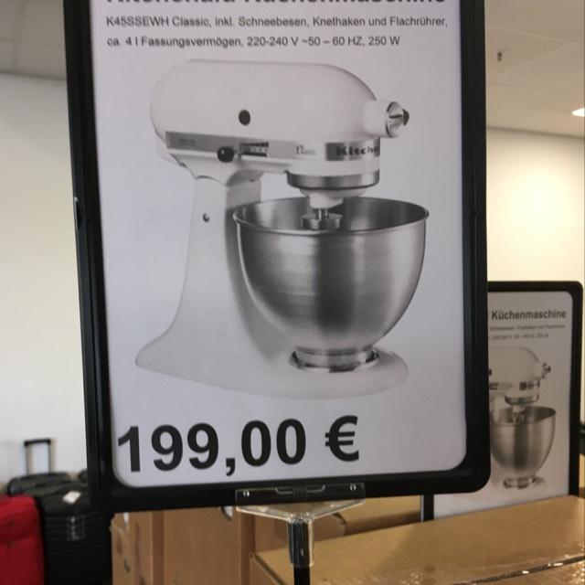 KitchenAid 5K45SSEWH Classic weiß [lokal] Black Solingen