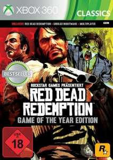 Red Dead Redemption Game Of The Year Edition (Xbox 360/Xbox One) für 10€ (Media Markt)