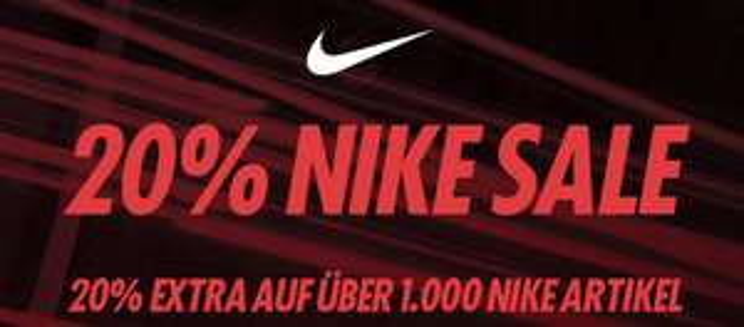 [KICKZ.COM] NIKE Sale 20% EXTRA-Rabatt