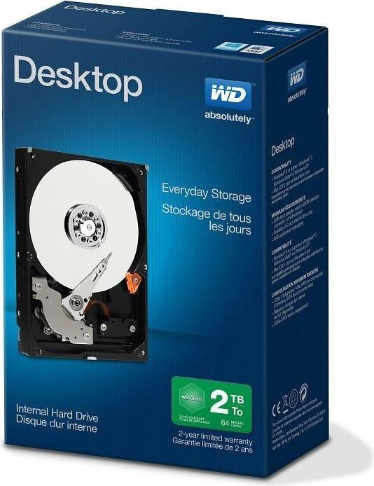 WD Blue interne HDD (3,5'') mit 2TB für 62€ & mit 3TB für 81€ [Amazon]