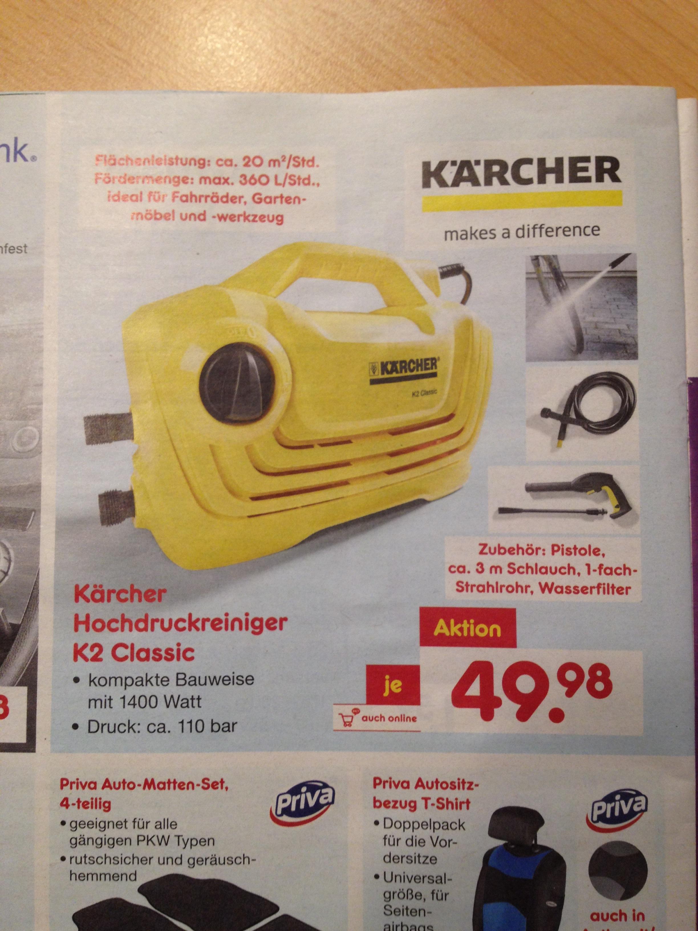 Kärcher K2 Classic, hochdruckreiniger