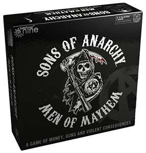 [Brettspiel] Sons of Anarchy - Men of Mayhem Boardgame (engl.)
