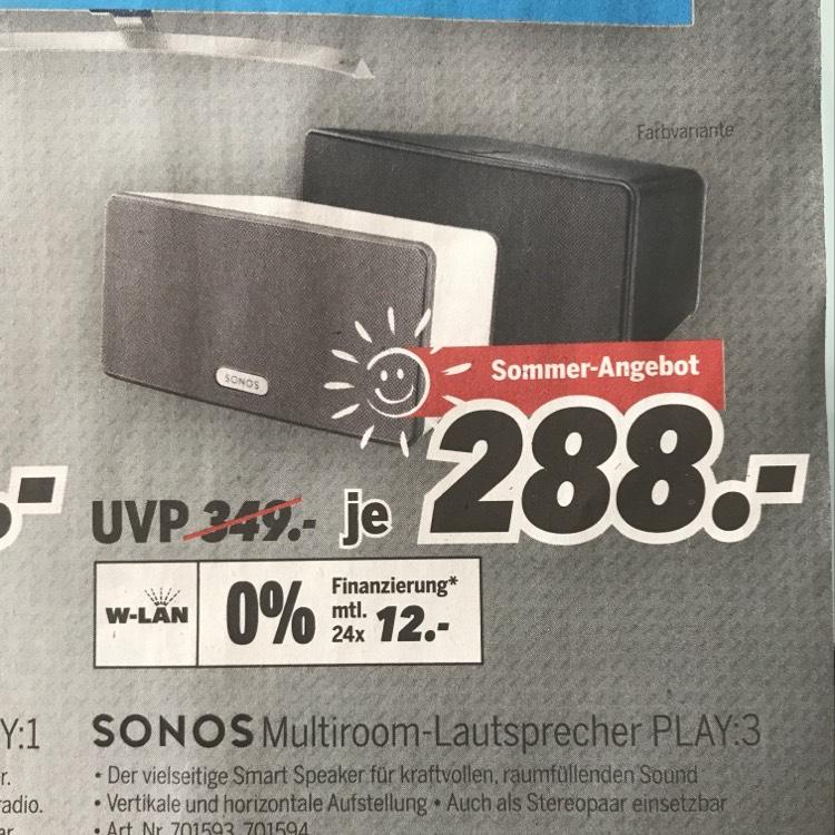 Sonos Play 3 - Medimax Heinsberg - lokal
