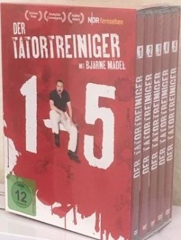 Der Tatortreiniger Komplettbox 1-5 (DVD) (Alphamovies)