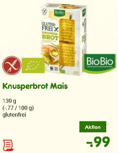 [Netto] Knusperbrot Mais - glutenfrei, 130 g
