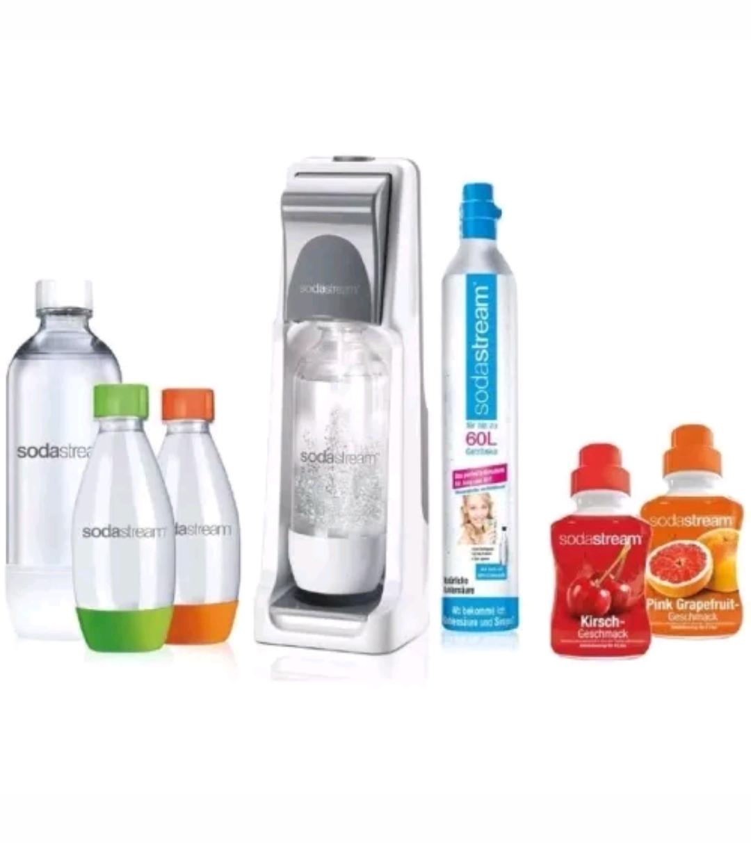 [eBay WoW] Sodastream Wasserspender Cool super Spar Pack weiß+ CO2 Flasche + 4 Flaschen