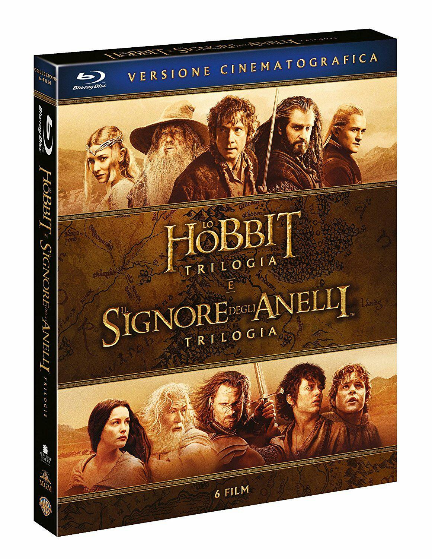 Mittelerde Collection: Herr der Ringe & Hobbit - 6 Filme / Blu-ray in Kinofassung [amazon.it]
