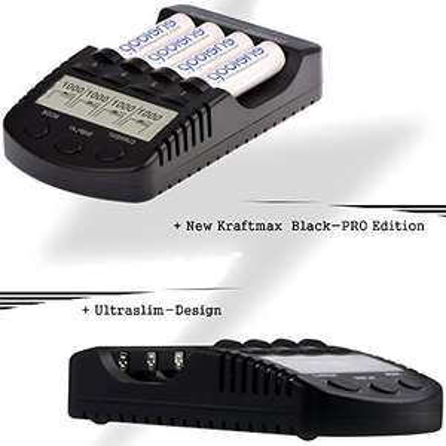 Ladegerät BC-4000 PRO bei Eneloop Shop für Eneloop-Akkus