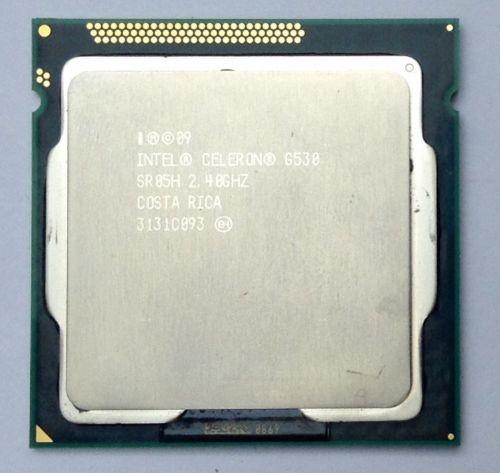 Intel Celeron G530 SR05H 2,40GHz Socket Sockel 1155 CPU / Prozessor für 5,85 [eBay]
