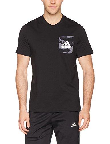 [Amazon] Adidas Essential Aop Tee Shirt, Herren für 11,91 in M und S