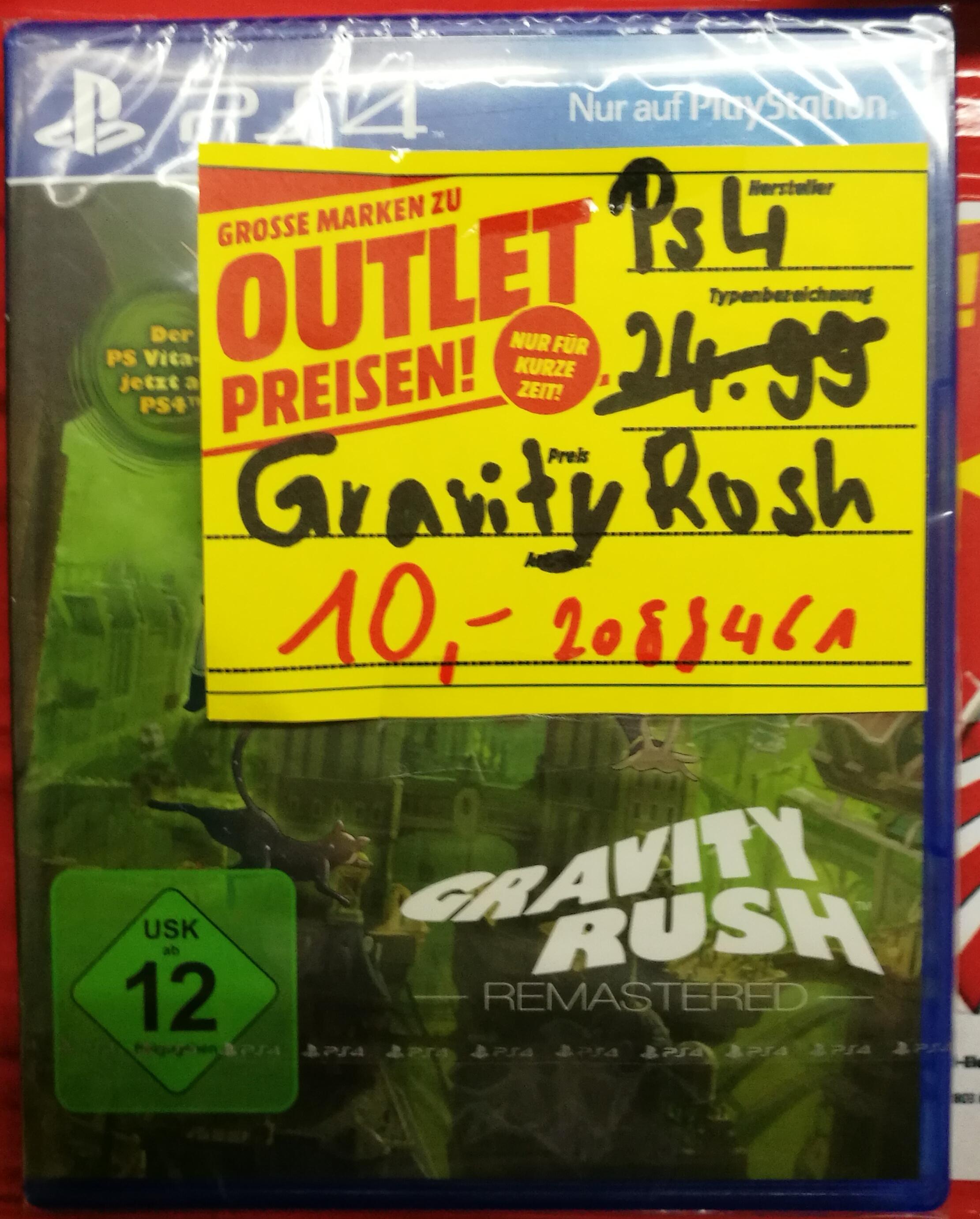 [Lokal] Media Markt Krefeld Gravity Rush Remastered PS4