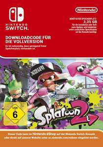 Splatoon 2 (Nintendo Switch) eShop Code (Download) für 49,95€ statt 55€ mit Amazon Payments