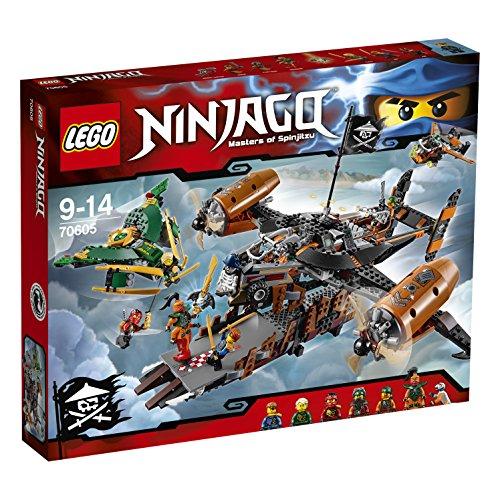 Lego Ninjago 70605 Luftschiff des Unglücks für 49,25€ bei [Amazon - nur mit Prime]