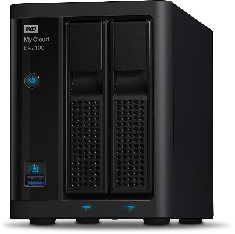 [EP Mediastore] Western Digital WD My Cloud EX2100 12TBB 2x6TB