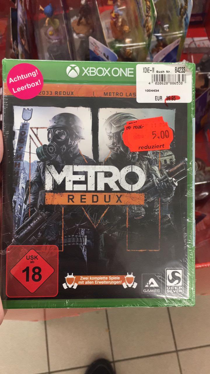 [LOKAL Real Bayreuth] Metro Redux Bundle Xbox One